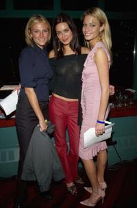 Bridget Hall, Daniella Van Graas and Kristy Hinze at the American Cancer Society's 2002 Gift Groove.