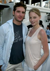 Actors Peter Facinelli and Rachel Nichols at Twentieth Century Fox Television's New Season Party in Santa Monica.