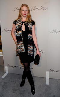 Rachel Nichols at the Monique Lhuillier Salon opening held at the Monique Lhuillier Salon in L.A.