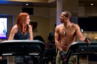 Rachel Nichols as Scarlett and Marlon Wayans as Ripcord in