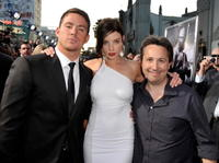 Channing Tatum, Rachel Nichols and Stuart Beattie at the screening of