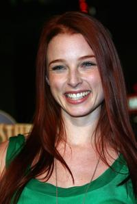 Rachel Nichols at the premiere of
