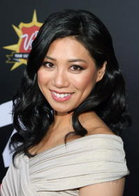 Actress Liza Lapira at the Las Vegas premiere of