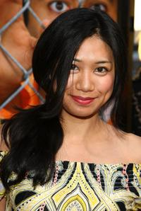 Liza Lapira at the premiere of