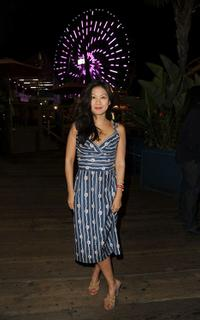 Liza Lapira at the FOX 2010 Summer Television Critics Association all-star party.