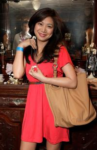 Liza Lapira at the Melanie Segal's Celebrity S.O.S (Save Our Seas) Lounge.