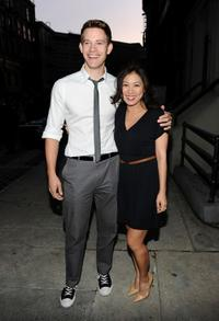 Bryce Johnson and Liza Lapira at the Twentieth Century Fox 75th Anniversary Party.