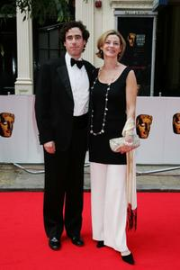 Stephen Mangan and Guest at the British Academy Television Awards.