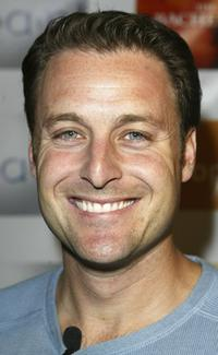 Chris Harrison at the Season Launch party.