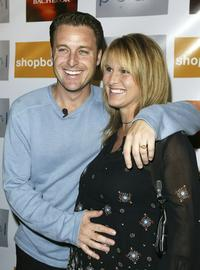 Chris Harrison and Gwen at the Season Launch party.