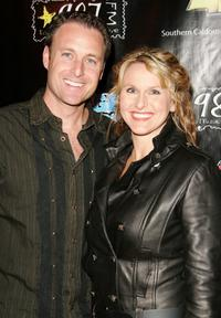Chris Harrison and Guest at the Star 98.7's, second annual lounge for life concert.