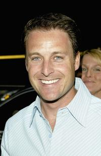 Chris Harrison at the ABC Network All-Star party.