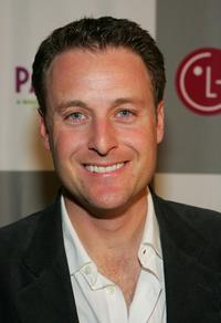 Chris Harrison at the LG All-Star Poker Showdown and party.
