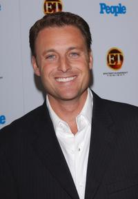 Chris Harrison at the Entertainment Tonight's Annual Emmy Awards party.