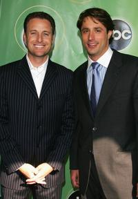 Chris Harrison and Lorenzo Borghese at the ABC Television Network Upfront.