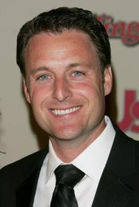Chris Harrison at the Us Weekly and Rolling Stone Oscar party.