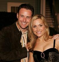Chris Harrison and Jennifer Schefft at the ABC's Winter Press Tour party.