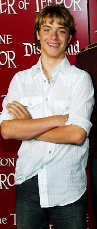 Jeremy Sumpter at the grand opening of