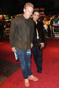 Laurence Fox and Billie Piper at the premiere of