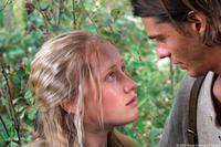 Emily (Tamara Hope) and Jonathan (Trent Ford) in