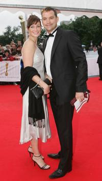 Sandya Mierswa and Christian Kahrmann at the Deutscher Filmpreis, the German Film Awards.