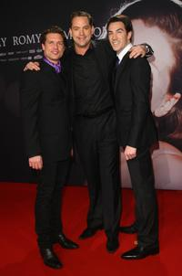 Ron Holzschuh, Christian Kahrmann and Arne Stephan at the German premiere of