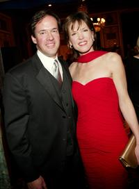 Dan Hicks and Hannah Storm at the Museum of Television and Radio's annual gala.