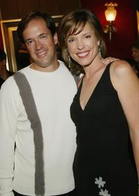 Dan Hicks and Hannah Storm at the premiere of