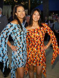 Carri Ann Inaba and Diane Mizota at the premiere of