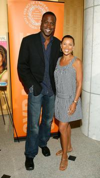 Kevin Daniels and Vanessa Williams at the premiere of