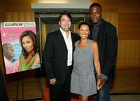 Richard Schenkman, Vanessa Williams and Kevin Daniels at the premiere of