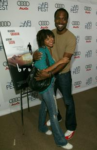 Tracie Thoms and Kevin Daniels at the premiere of