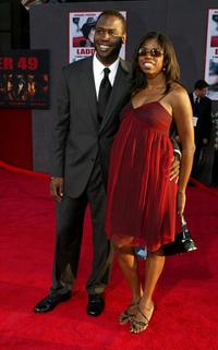 Kevin Daniels and Nicki Micheaux at the premiere of
