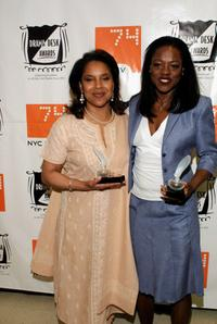 Viola Davis and Phylicia Rashad at the 49th Annual Drama Desk Awards.