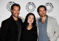 Josh Stamberg, Brooke Elliott and Jackson Hurst at the