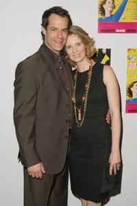 Josh Stamberg and Cynthia Nixon at the opening night of