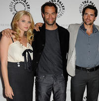 April Bowlby, Josh Stamberg and Jackson Hurst at the