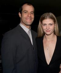 Josh Stamberg and Alison West at the opening night party of