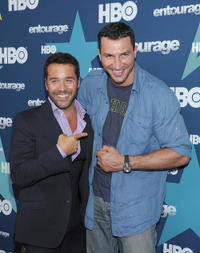 Jeremy Piven and Wladimir Klitschko at the New York Season 8 premiere of