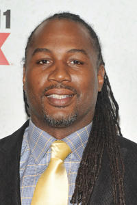 Lennox Lewis at the New York premiere of