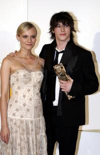 Gaspard Ulliel and Diane Kruger at the 30th Nuit des Cesar, France's top movie awards.