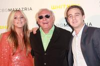 Marine Azria, Max Azria and Michael Azria at the fifth Annual Art Party Celebrating The Whitney Museum Of American Art.