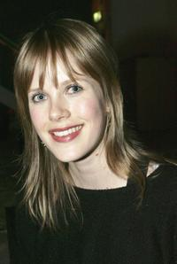 Alyssa McClelland at the 2006 season launch of
