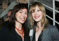 Claudia Karvan and Alyssa McClelland at the L'Oreal Paris 2005 AFI Awards Nomination announcement.