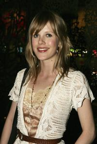 Alyssa McClelland at the world premiere of