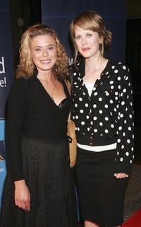 Libby Richmond and Alyssa McClelland at the 2006 IF Awards media launch.
