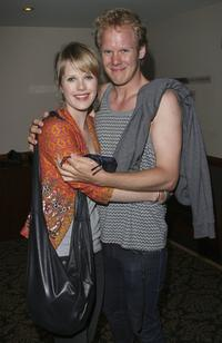 Alyssa McClelland and Luke Willdem at the 2006 Sydney Theatre Awards.