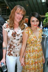 Lisa Hensley and Pia Miranda at the 2007 Inside Film Awards nominations announcement.
