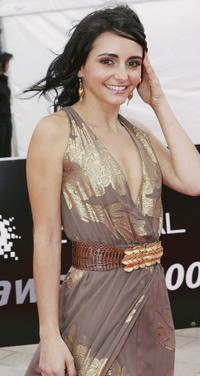 Pia Miranda at the L'Oreal Paris 2005 AFI Awards.