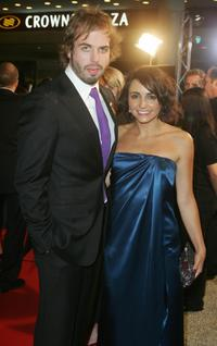 Angus Sampson and Pia Miranda at the Inside Film Awards.